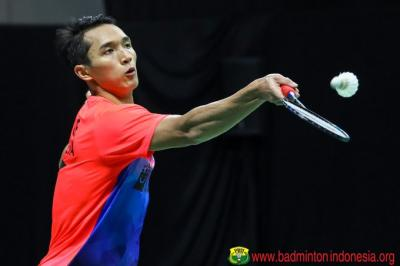 Jonatan Christie Mundur, Shesar Raih Tiket Gratis ke Final PBSI Home Tournament
