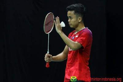 Kalahkan Chico, Anthony Ginting Bakal Hadapi Shesar di Final Home Tournament