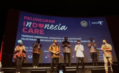 Kemenparekraf Luncurkan Kampanye Penerapan Protokol Kesehatan Indonesia Care