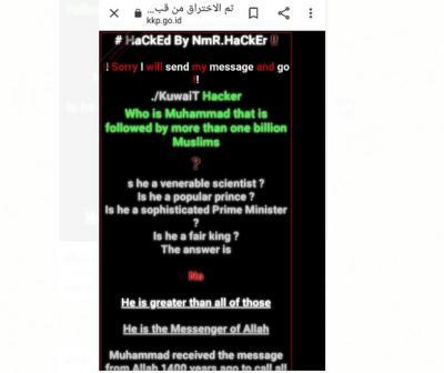 Situs KKP Diretas, Pelaku Mengaku dari Kuwait