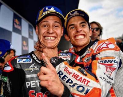 Sebelum MotoGP 2020 Mulai, Quartararo Sibuk Cari Tahu Kelemahan Marquez