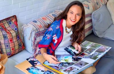 Serunya Nadine Chandrawinata Diving di Raja Ampat, Keren Deh