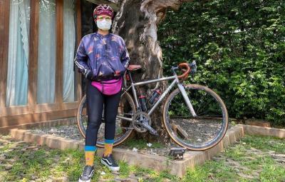8 Tips Aman Bersepeda di Tengah Pandemi ala Nirina Zubir