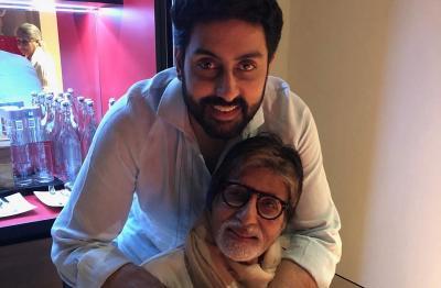 Positif COVID-19, Amitabh & Abhishek Bachchan Banjir Dukungan dari Bintang Bollywood