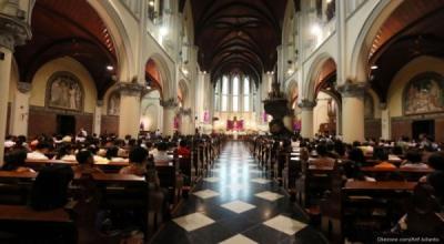 Kembali Gelar Misa, Begini Aturan Peribadatan di Gereja Katedral Jakarta