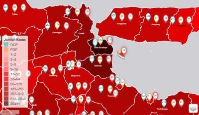 Tertinggi di Indonesia, Jatim Laporkan 518 Kasus Baru Positif Covid-19