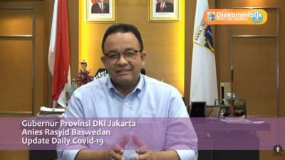 Jika Kasus Covid-19 Terus Melonjak di Jakarta, Anies Akan Tarik Emergency Brake