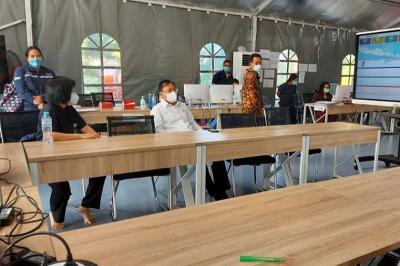 Pantau Penanganan Covid-19 di Jatim, Mulai Hari Ini Menkes Terawan Berkantor di Surabaya