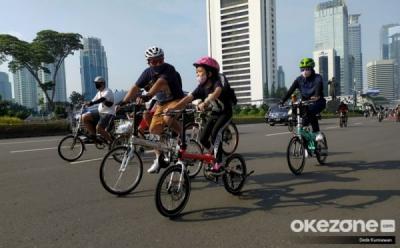 CFD Jakarta Hanya Digelar di 30 Titik Hari Ini, Berikut Daftarnya