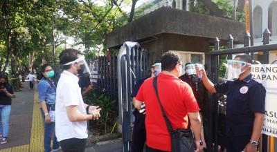 Begini Suasana Gereja Katedral Jelang Misa Perdana di Tengah Pandemi Corona