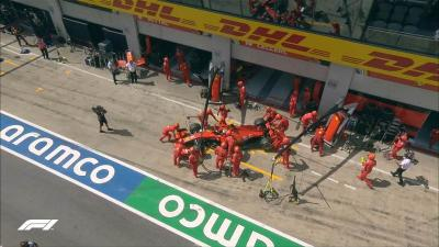 Duo Ferrari Gagal Finis di F1 GP Styria 2020 Gara-Gara Tabrakan di Awal Balapan