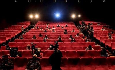 Wishnutama Pastikan Simulasi Protokol Kesehatan di Bioskop Berjalan dengan Baik