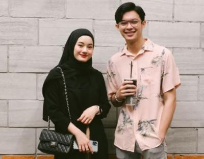 Hijaber Dinda Hauw Menikah Lewat Taaruf, Lihat Sosok Suaminya