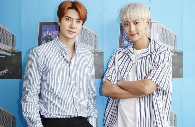 Kompak Rilis Lagu Solo di Album EXO-SC, Sehun dan Chanyeol Saling Puji