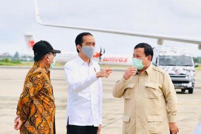 Presiden Jokowi Buka-bukaan Tunjuk Prabowo Urus Lumbung Pangan