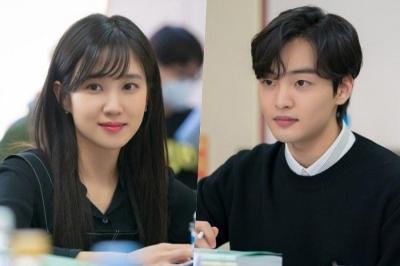 Chemistry Kim Min Jae dan Park Eun Bin saat Pembacaan Skenario Do You Like Brahms?