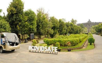 Begini Penerapan Protokol Kesehatan di Candi Borobudur dan Ratu Boko
