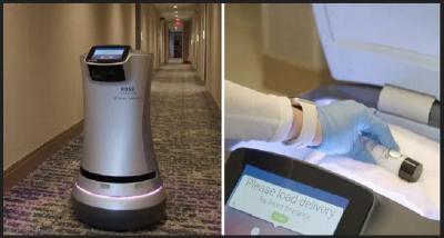 Cegah Penularan Covid-19, Hotel Ini Gunakan Robot sebagai Room Service