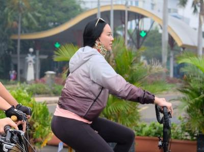 Intip Potret Keseruan Aura Kasih Jalan-Jalan ke Dufan Ancol