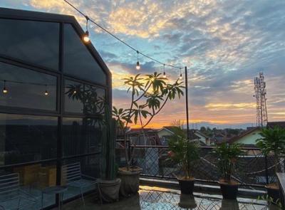 Viral Rumah Purnama, Keren Ada Rooftop-nya