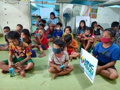 Hari Anak Nasional Masa Pandemi, MNC Peduli Berbagi Kebahagiaan di Petak Seng