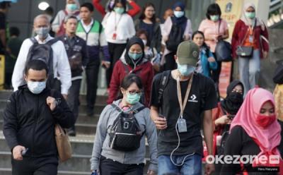 Cegah Covid-19, Masyarakat Jangan Mangap di Area Transportasi Publik