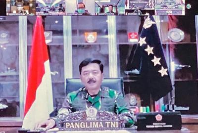 Panglima TNI Tegaskan Penegakan Disiplin Kesehatan Cegah Penyebaran Covid-19