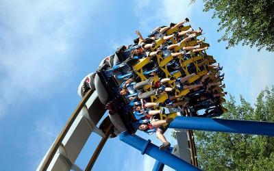 Di Taman Hiburan Ini Naik Roller Coaster Boleh, Syaratnya Tidak Berteriak