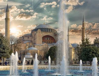 Mosaik Hagia Sophia Akan Ditutup ketika Waktu Sholat
