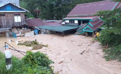 Banjir Luwu Utara, 10 Rumah Hanyut dan 213 Unit Tertimbun Lumpur