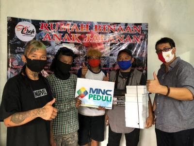 MNC Peduli Berdayakan UMKM Salurkan Makan Siang ke Yayasan Anak Jalanan Depok