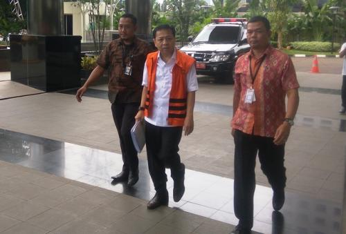 Sempat Dievakuasi Akibat Gempa Banten, Setnov Kembali Diperiksa KPK