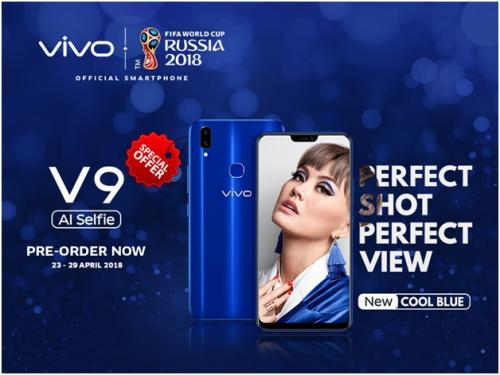 Vivo V9 Cool Blue Limited Edition, Si Biru yang Canggih dan <i>Fashionable</i>